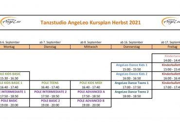 HERBSTPROGRAMM 2021